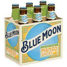Blue Moon Mango 6pk btl