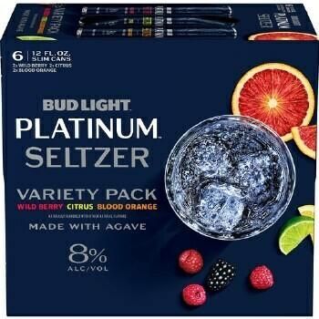 Bud Lt Platinum Seltzer 6pk can