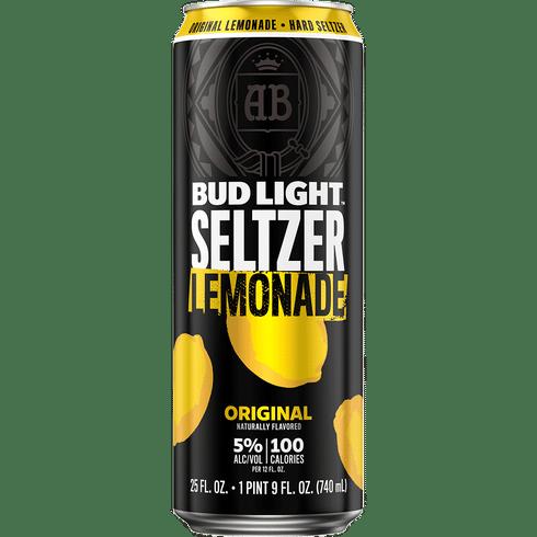 Bud Lt Seltzer Lemonade 12oz can single