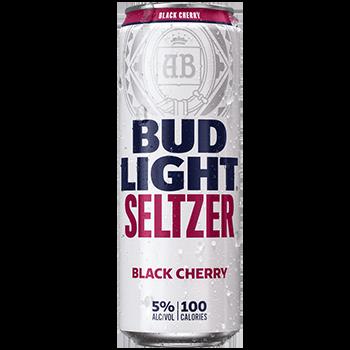Bud Lt Seltzer Black Cherry Lemonade 12oz can single