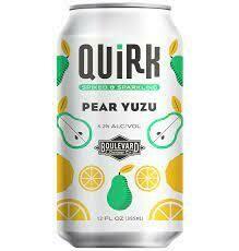 Quirk Pear Yuzu 12oz single can