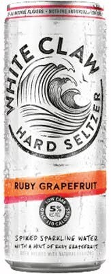 White Claw Ruby Grapefruit 16oz can