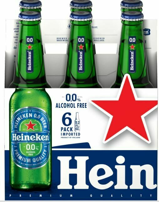 Heineken 0.0 6pk btl