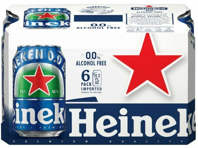 Heineken 0.0 6pk can