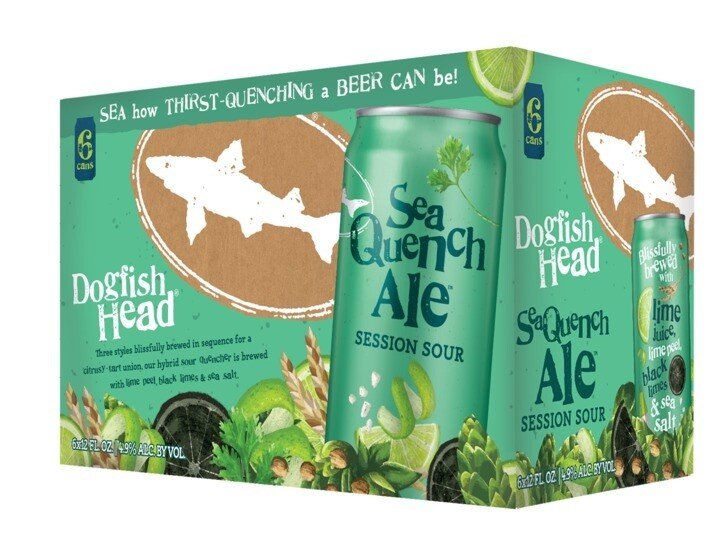 Dogfish Sea Queen Ale 6pk can