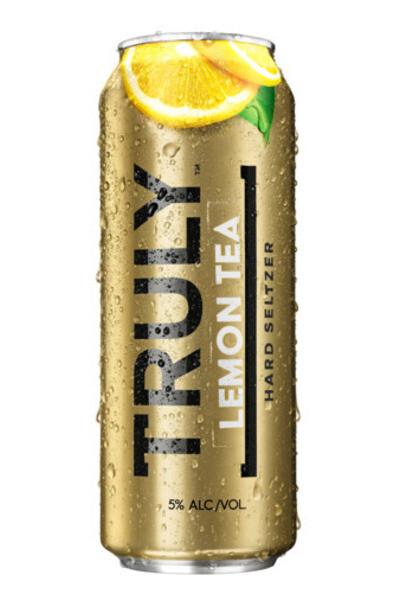 Truly Lemon Tea 24oz can