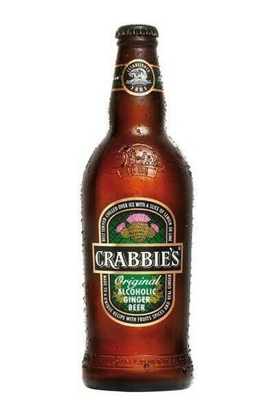 Crabbie's Ginger Beer 11oz btl single