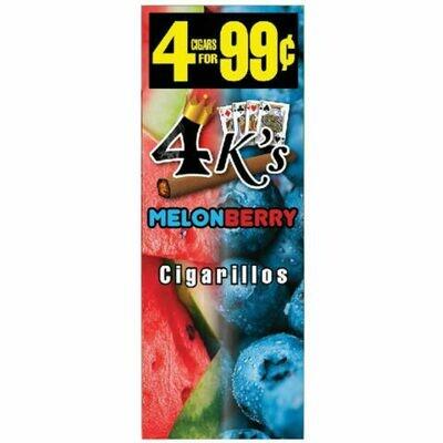 4K's Melonberry Cigarillos 4pk