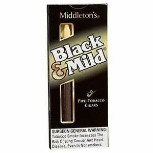 Black & Mild Plastic Tip 5pk