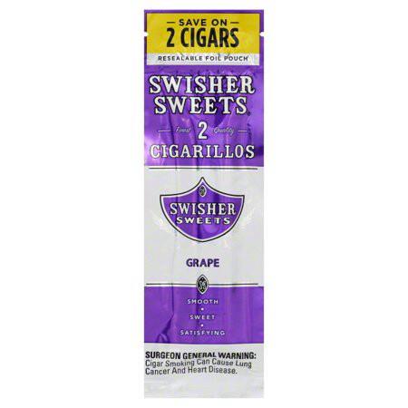 Swisher Sweet Grape 2pk