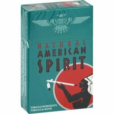 American Spirit Dark Green King Box