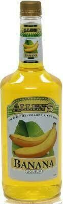Allens Banana Liqueur 1L