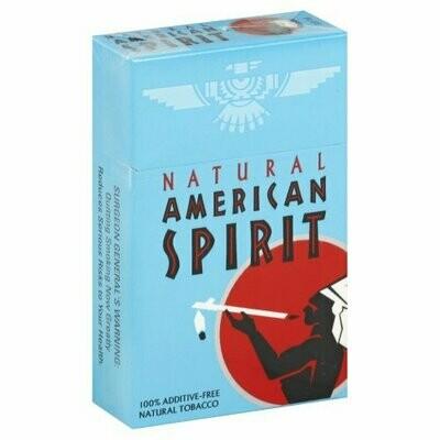 American Spirit Blue King Box