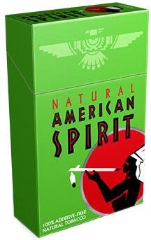 American Spirit Green King Box