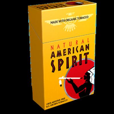 American Spirit Gold King Box
