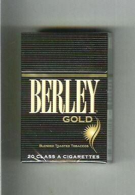 Berley Menthol Gold King Box