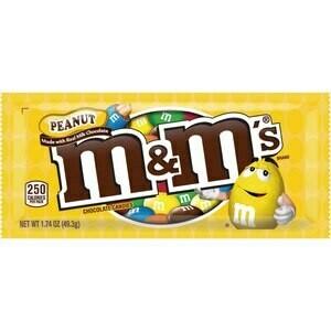 M&M Peanut Regular Size