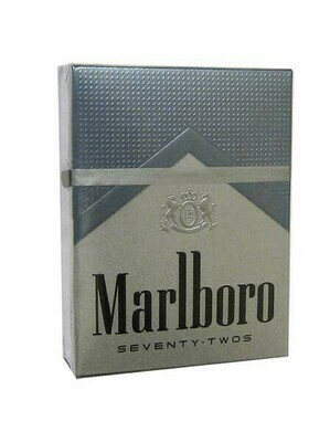Marlboro 72 Silver King Box