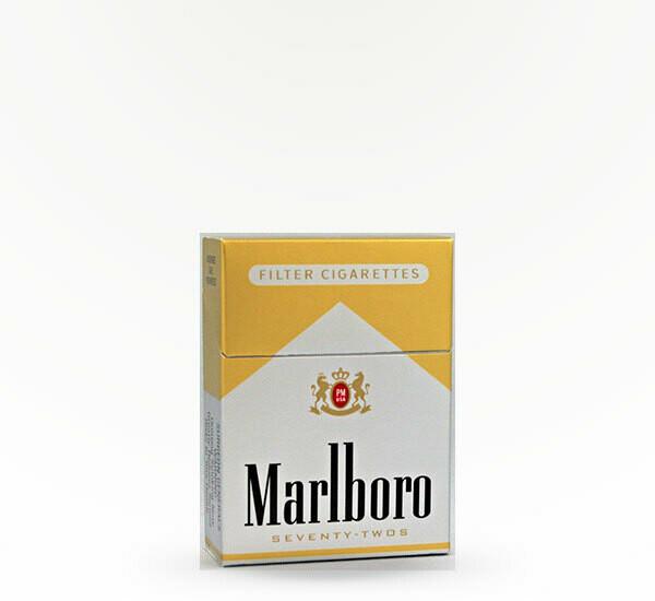 Marlboro 72 Gold King Box