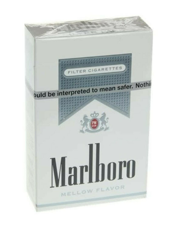 Marlboro Silver King Box