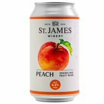 St. James Peach 12oz can
