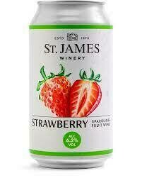 St. James Strawberry 12oz can