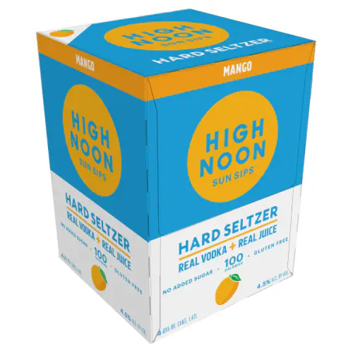 High Noon Mango 4pk can
