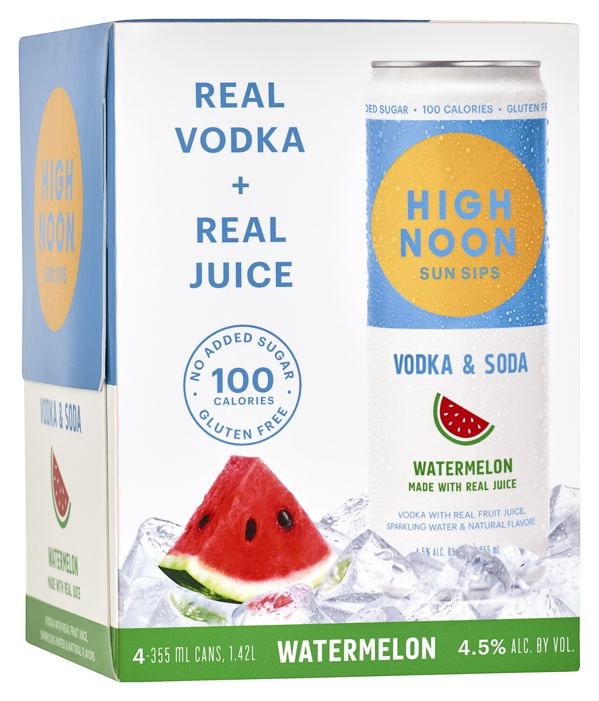 High Noon Watermelon 4pk can