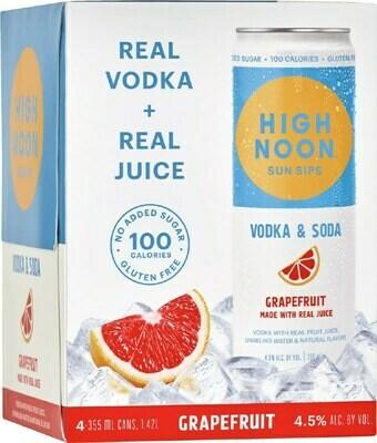 High Noon Grapefruit 4pk can