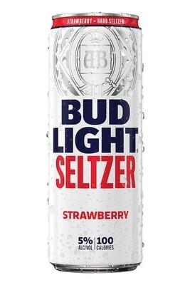 Bud Lt Strawberry Seltzer 12oz can