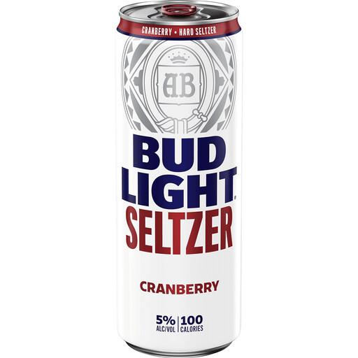 Bud Lt Cranberry Seltzer 12oz can