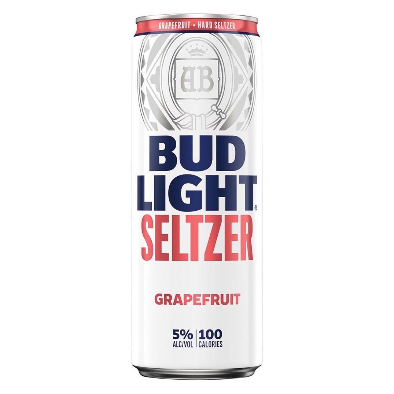 Bud Lt Grapefruit Seltzer 12oz can