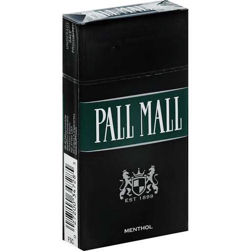 Pall Mall Black Menthol 100 Box