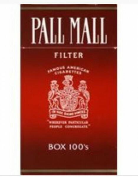 Pall Mall Red 100 Box