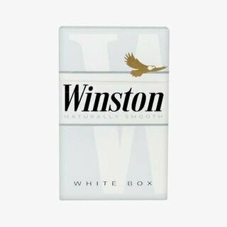 Winston White King Box