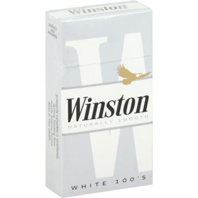 Winston White 100 Box