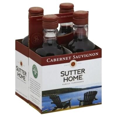 Sutter Home Cab Sauv 4pk btl