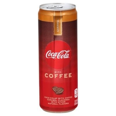 Coke Coffee Carmel 12oz can