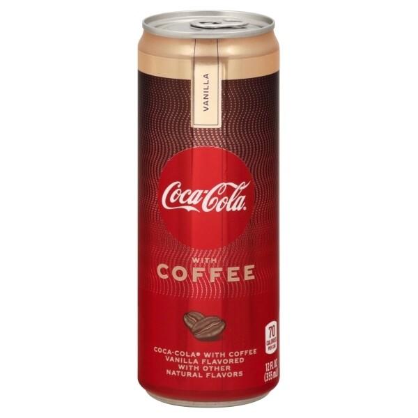 Coke Coffee Vanilla 12oz can