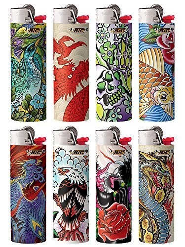 Bic Lighter Tattoo