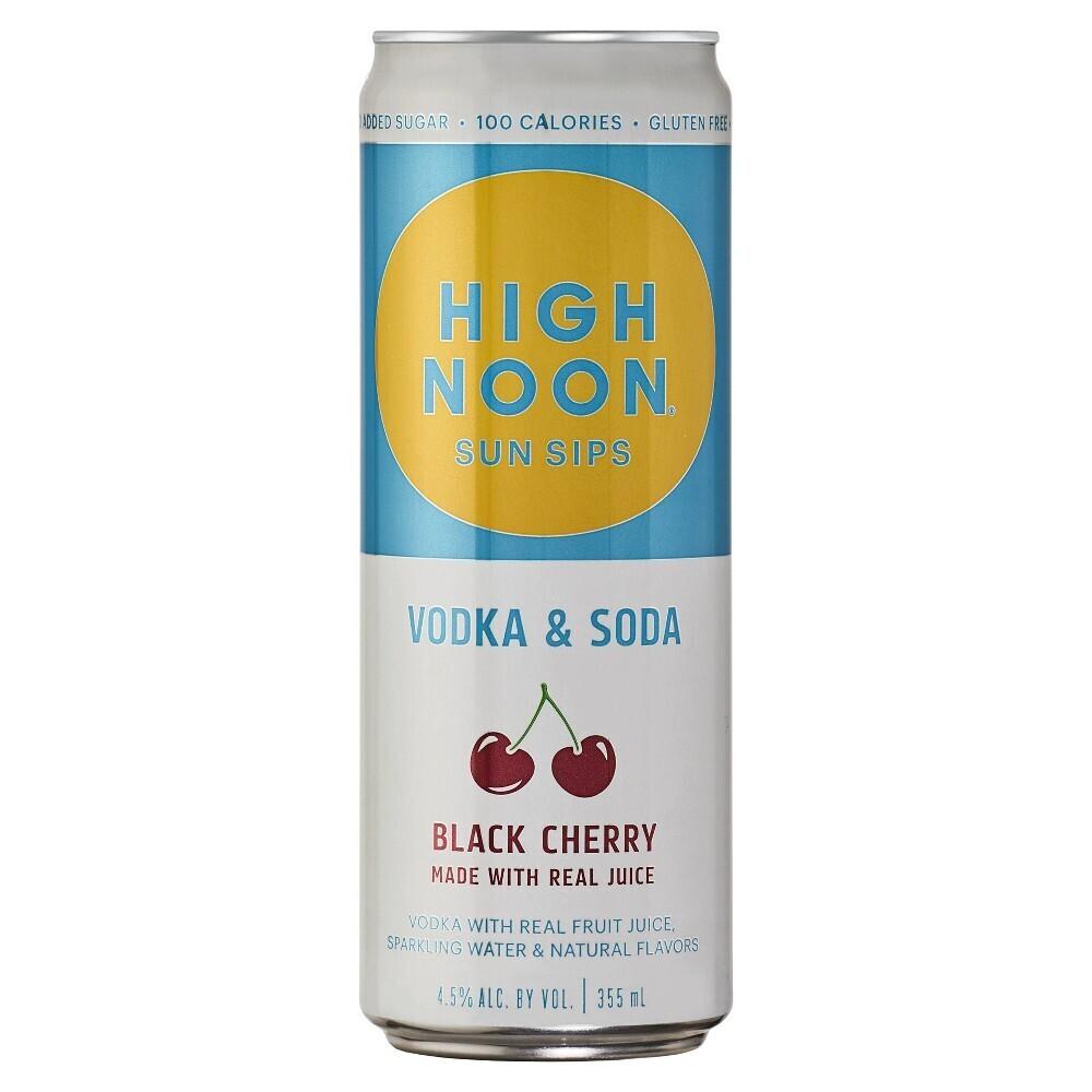 High Noon Black Cherry 355mL can
