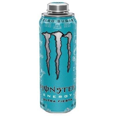Monster Ultra Fiesta 24oz can