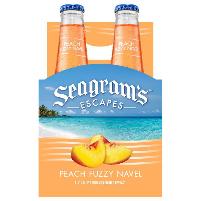 Seagram's Peach Bellini 4pk btl