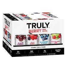 Truly Variety Berry 12pk can