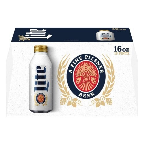 Miller Lite 15pk alum btl