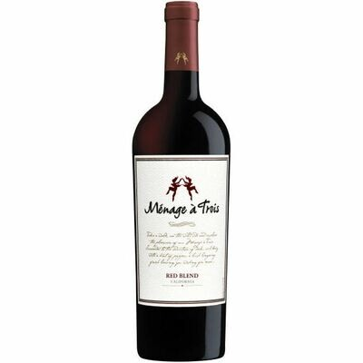 Menage A Trois Red Wine 750mL