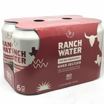 Lone River Ranch Water Red Grapefruit 6pk can