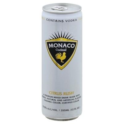 Monaco Citrus Rush 12oz can