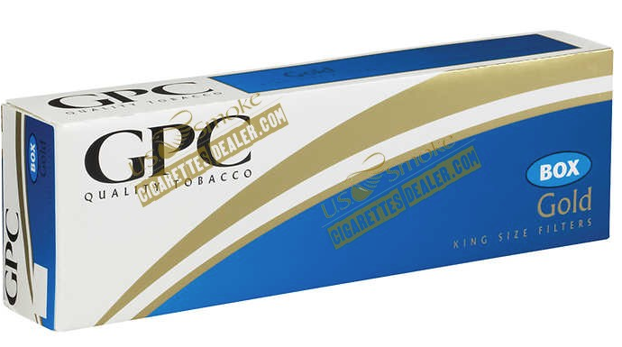 GPC Classic Gold King Box