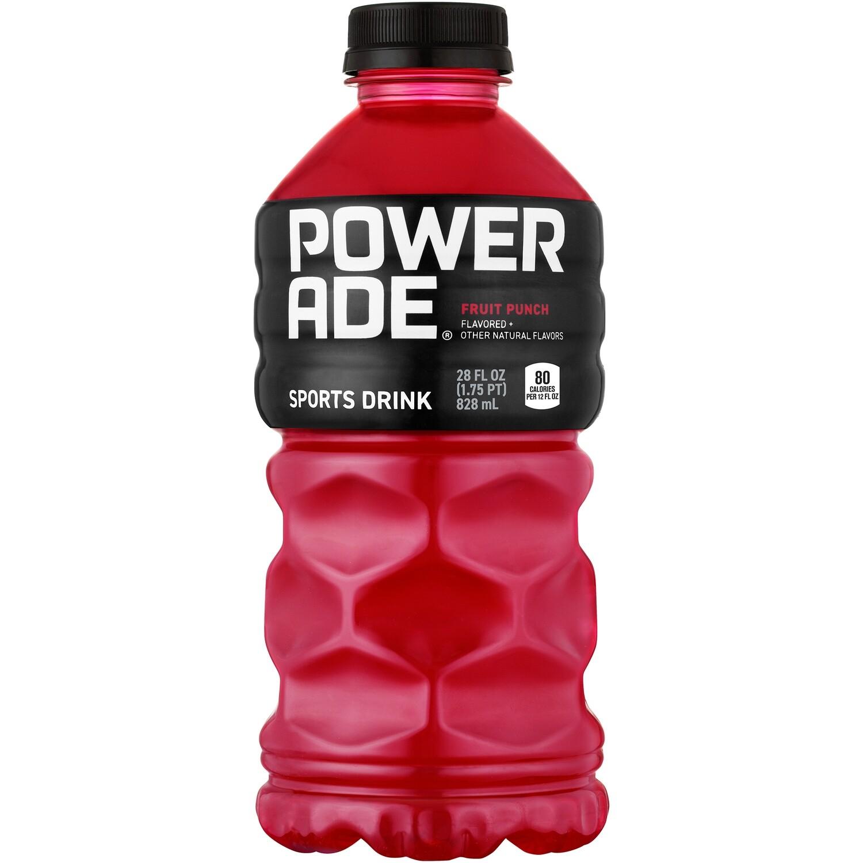 Powerade Fruit Punch 28oz btl